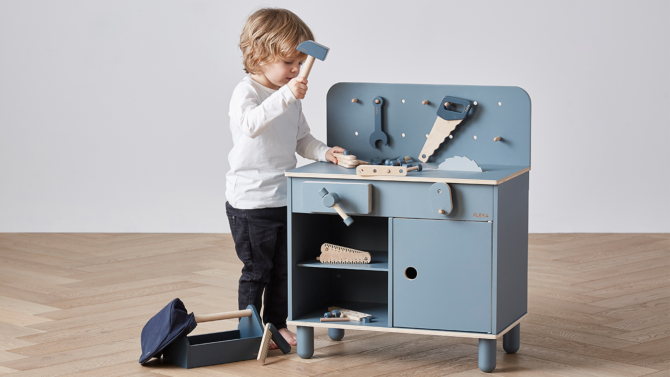 The Scandinavian award-winning TOYS collection has the highest standards of quality and safety. TOYS will put a smile on your kids' faces while they develop fine motor skills