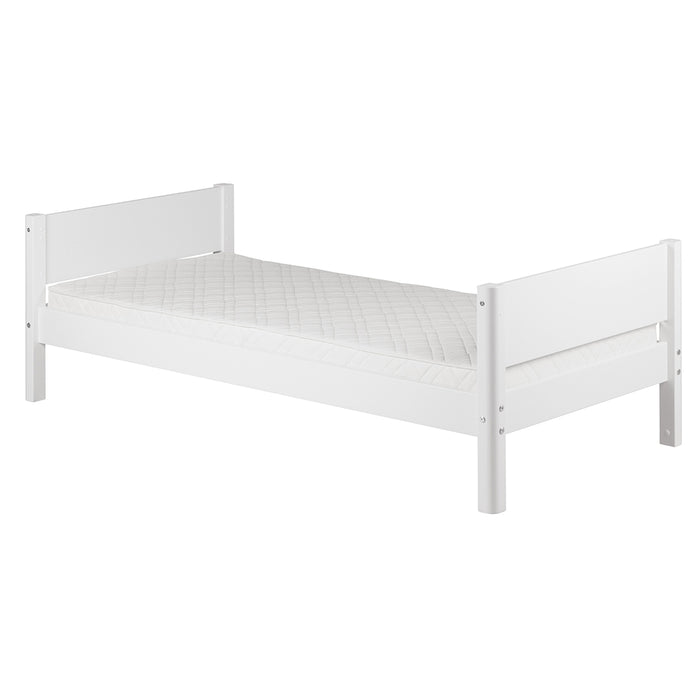 White - Single bed - White - Kids Furniture | Flexa USA