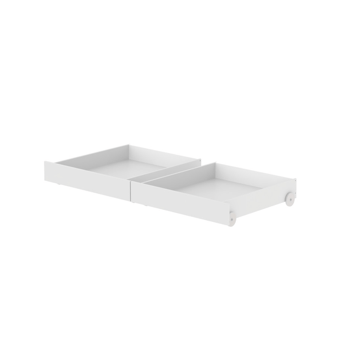 Nor - Set of 2 Drawers - White - Kids Furniture | Flexa USA