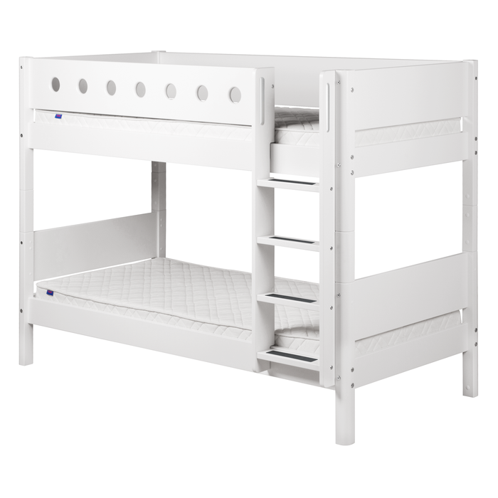 White - Bunk bed - White - Kids Furniture | Flexa USA