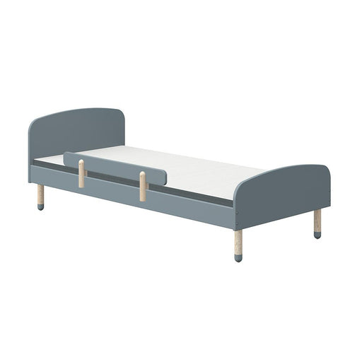 Play - Single bed - Light Blue with Safety rail