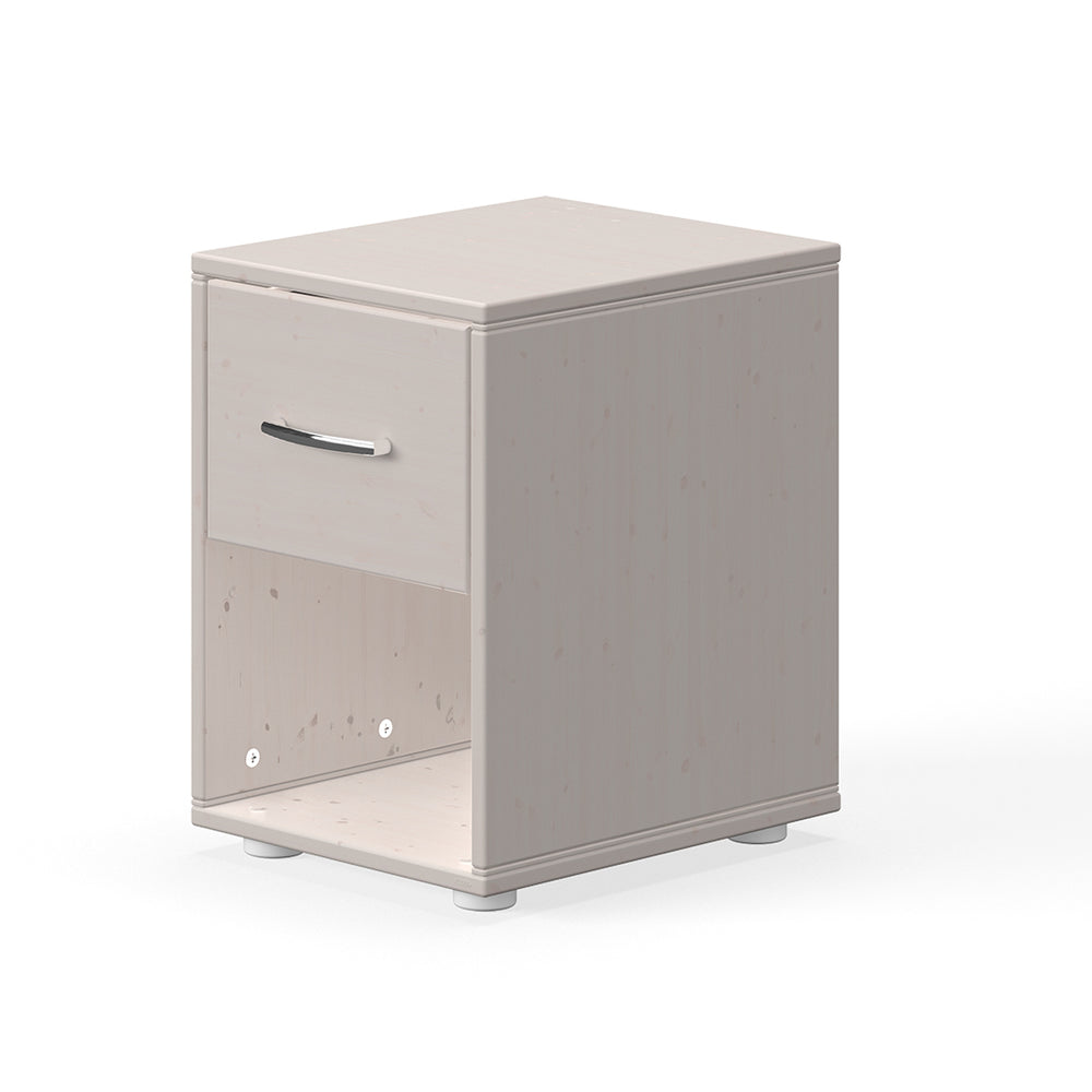 Classic - Chest with 1 drawer - Grey washed - Kids Furniture | Flexa USA