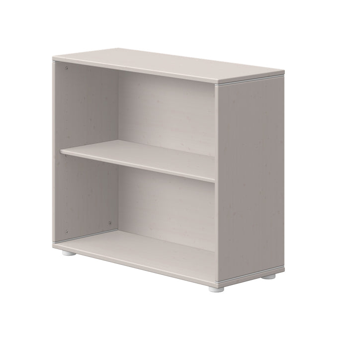 Classic - Bookcase with 1 shelf - Grey washed - Kids Furniture | Flexa USA