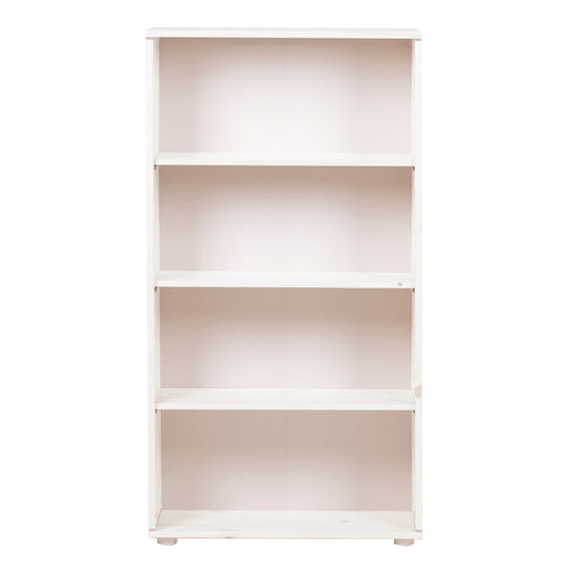 Classic - Bookcase with 3 shelves - Whitewashed White