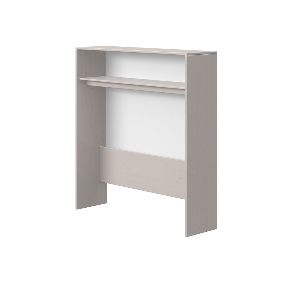 Classic -Hutch, Low - Grey Washed - Kids Furniture | Flexa USA