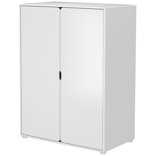 Cabby - Wardrobe with 2 doors (module) - White