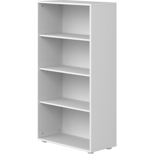Cabby - Bookcase with 3 shelves -White / White