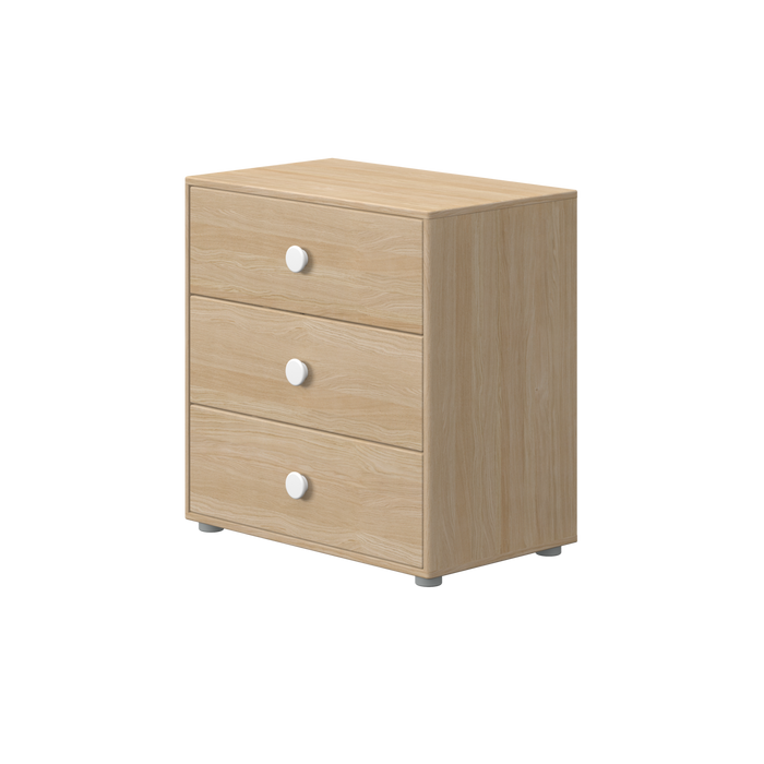 Nor - Chest of drawers - Oak/Coconut - Kids Furniture | Flexa USA