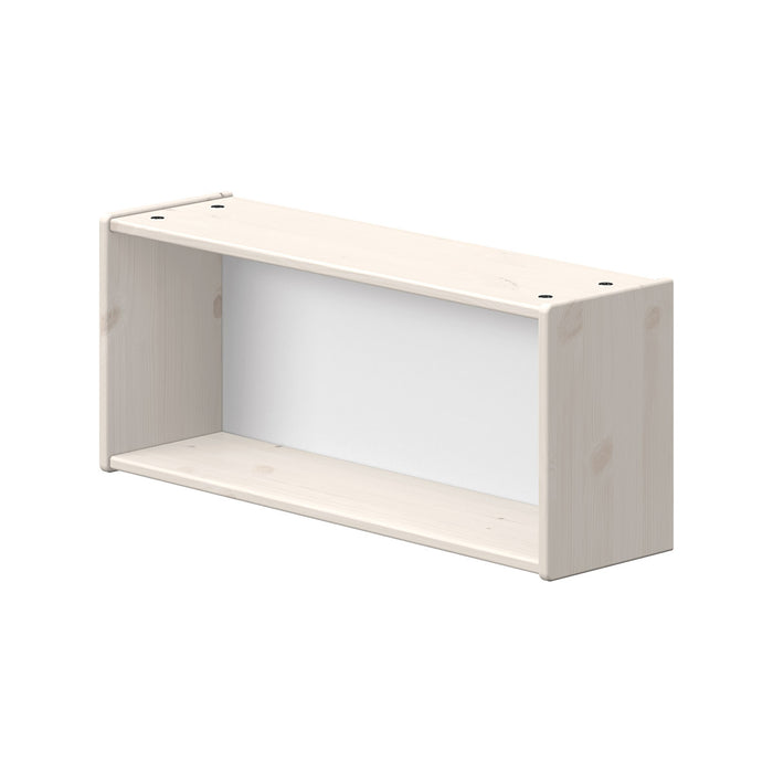 Classic - Bookcase with 1 compartment - White Washed - Kids Furniture | Flexa USA