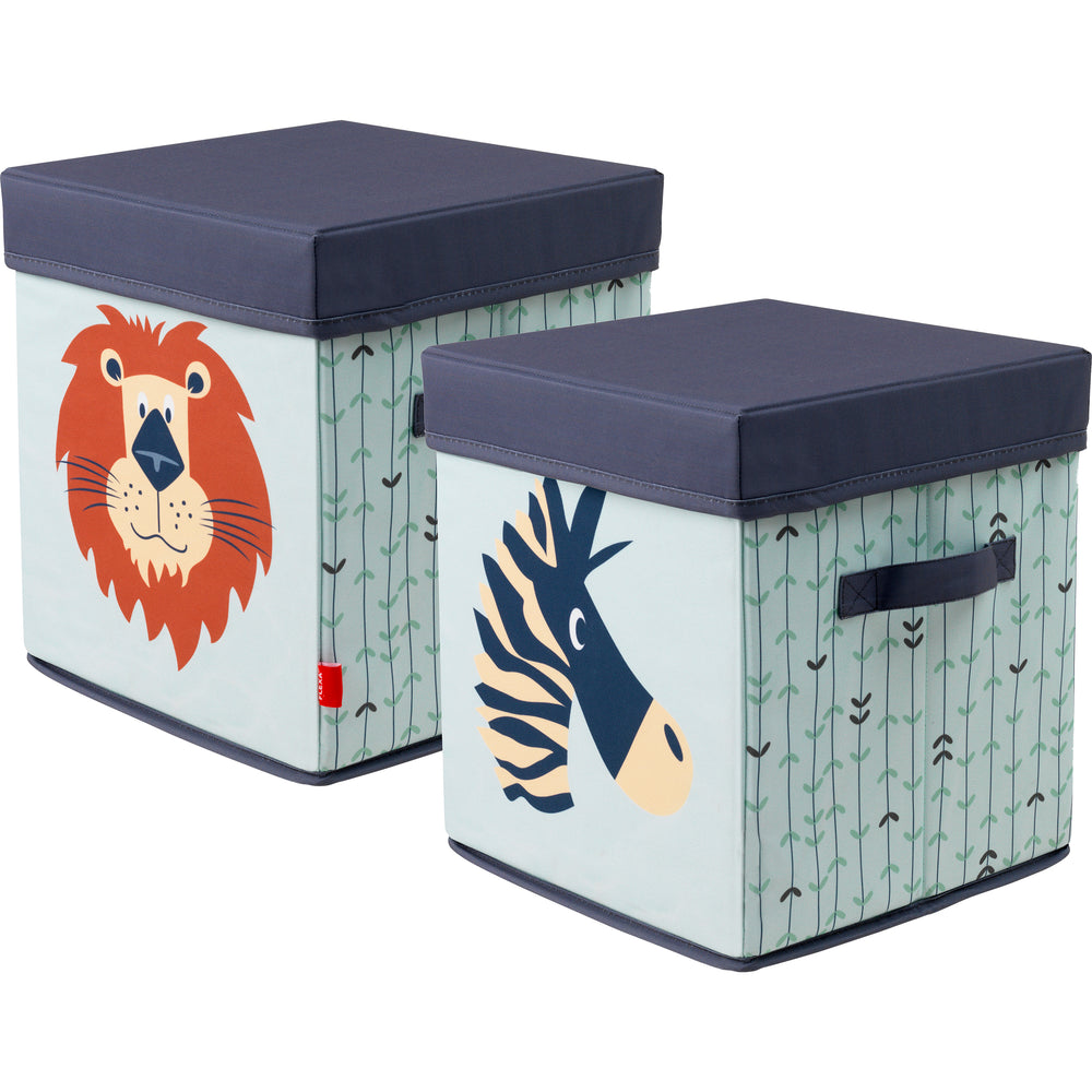 Storage box - Safari - Kids Furniture | Flexa USA