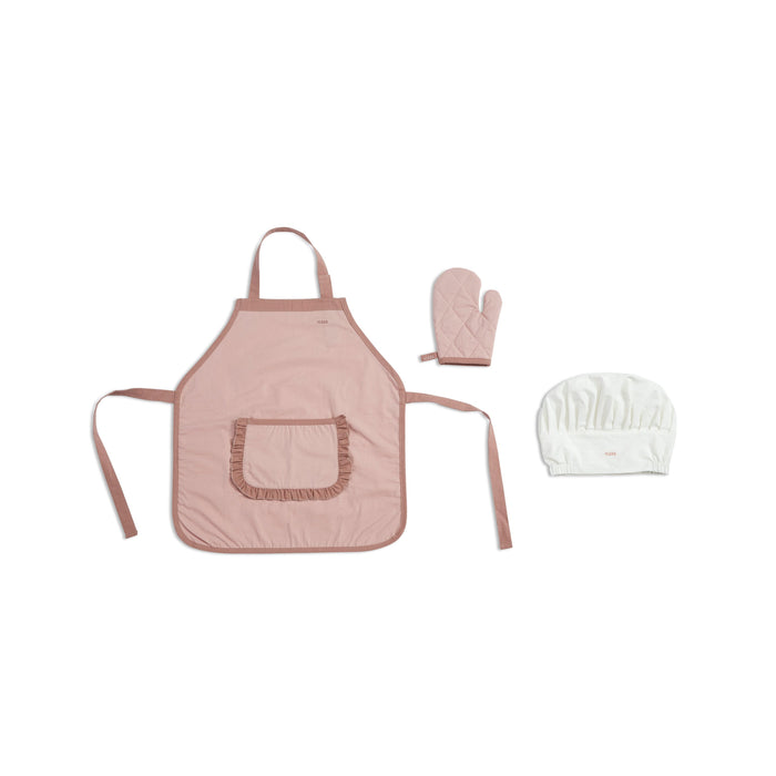 PLAY - Chef's Costume - Light Rose/White - Kids Furniture | Flexa USA