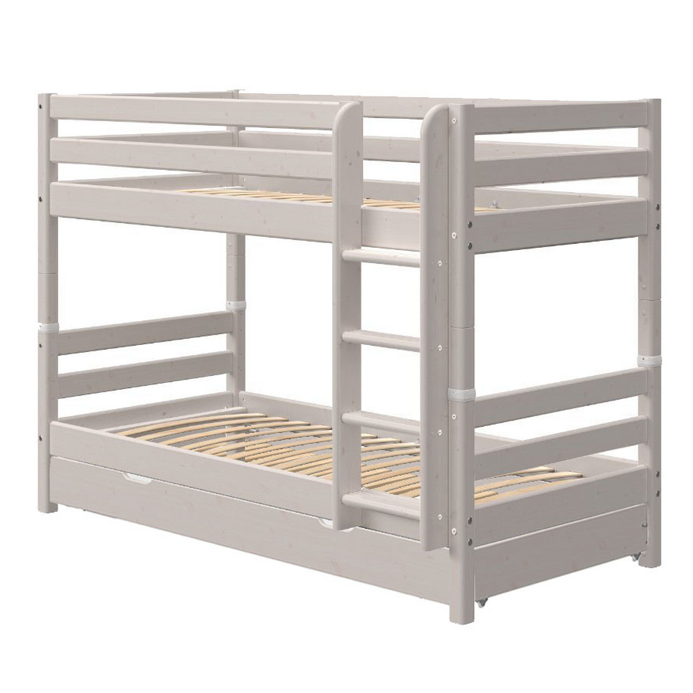 Classic - Bunk bed with Guest Bed - Grey washed