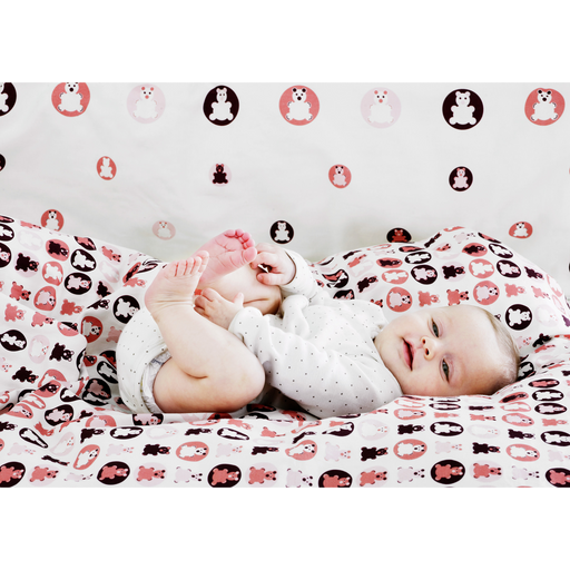 Baby - Bed linen - Coral - Kids Furniture | Flexa USA
