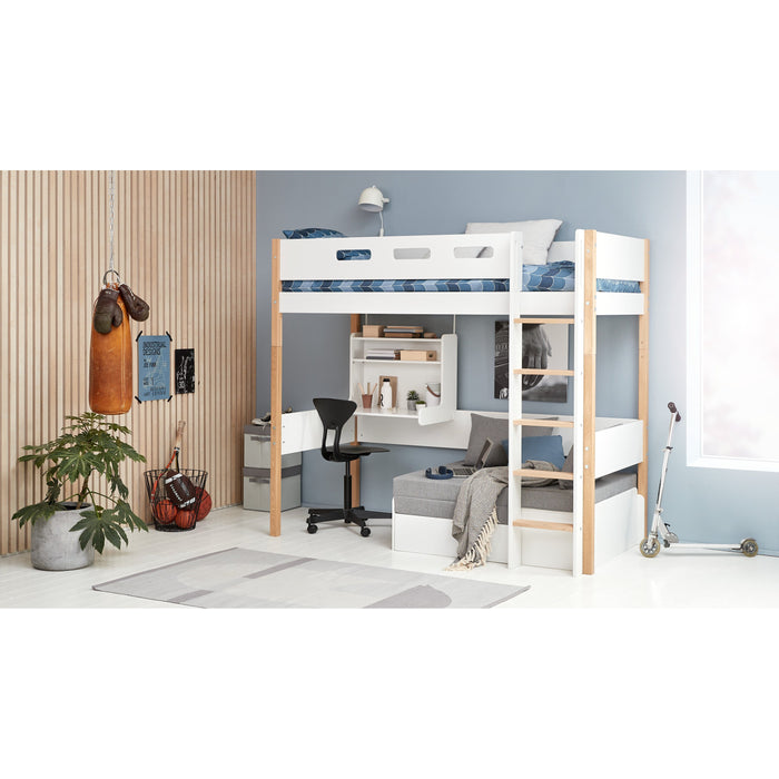 Nor - Casa High Bed - Kids Furniture | Flexa USA