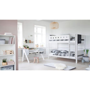 White - Bunk bed - White