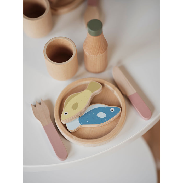 PLAY - Fish & Meat - Mixed colors/Natural wood