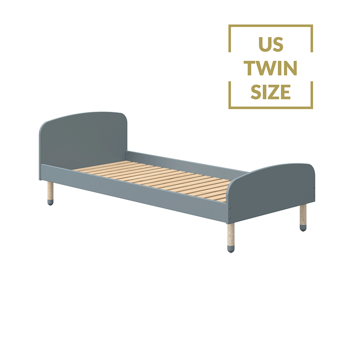DOTS - US Twin Single bed - Light Blue - Kids Furniture | Flexa USA