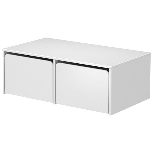 Cabby - Storage with 2 boxes (module) - White - Storage