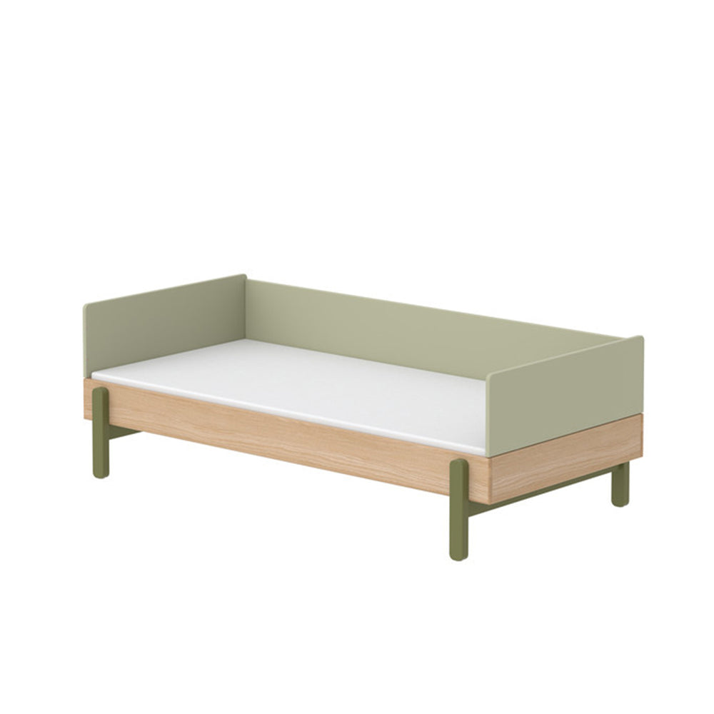 Popsicle - Daybed, single size - Oak/Kiwi - Kids Furniture | Flexa USA
