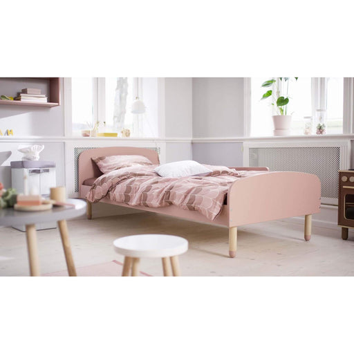 Play - US Twin Single bed - Light Rose - Kids Furniture | Flexa USA