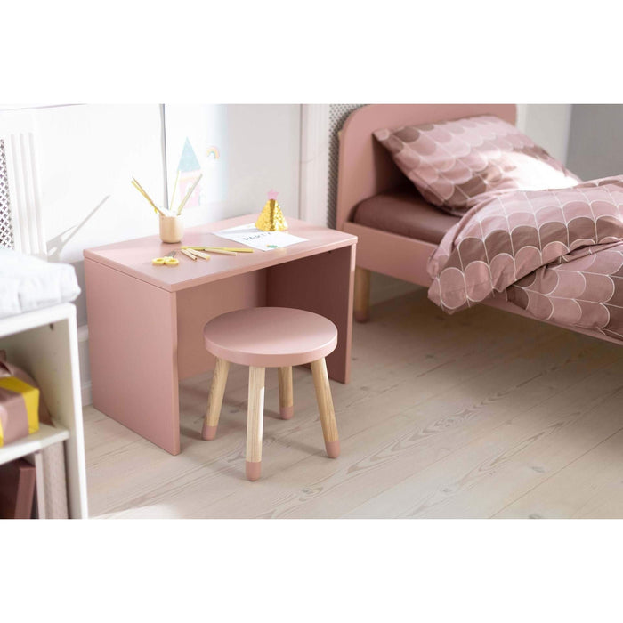 Play - Children's stool - Light Rose - Kids Furniture | Flexa USA