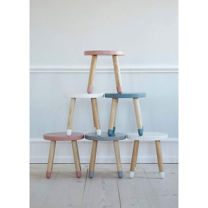 DOTS - Children's stool - White