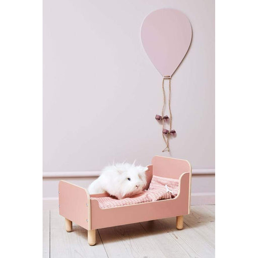 PLAY - The Doll Bed - Light Rose with Duvet and Pillow