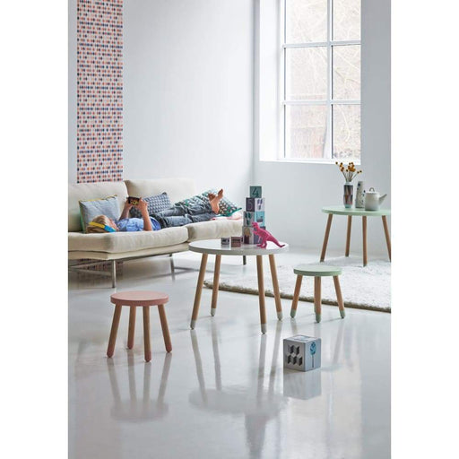 Dots - Children's stool - Cherry - Kids Furniture | Flexa USA