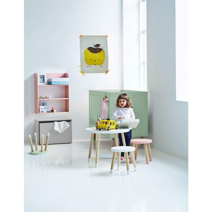 Play - Children's stool - Urban grey - Kids Furniture | Flexa USA