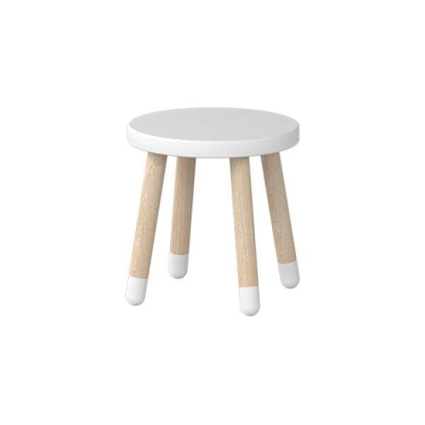 Play - Children's stool - White - Kids Furniture | Flexa USA