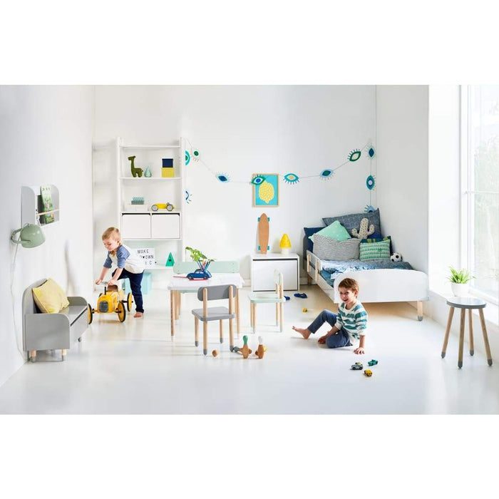 Play - Display shelf - Light Blue - Kids Furniture | Flexa USA
