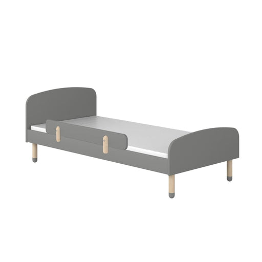 Play - Single bed - Urban grey with Safety rail - Single bed