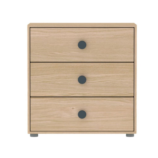 Popsicle - Chest of drawers - Oak/Blueberry - Storage