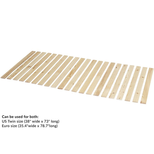 Popsicle - Set of slats - Box Curved Birch - Accessory