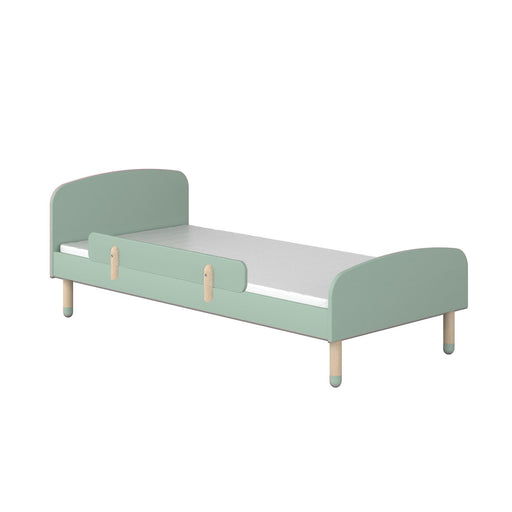 Play - Single bed - Mint green with Safety rail