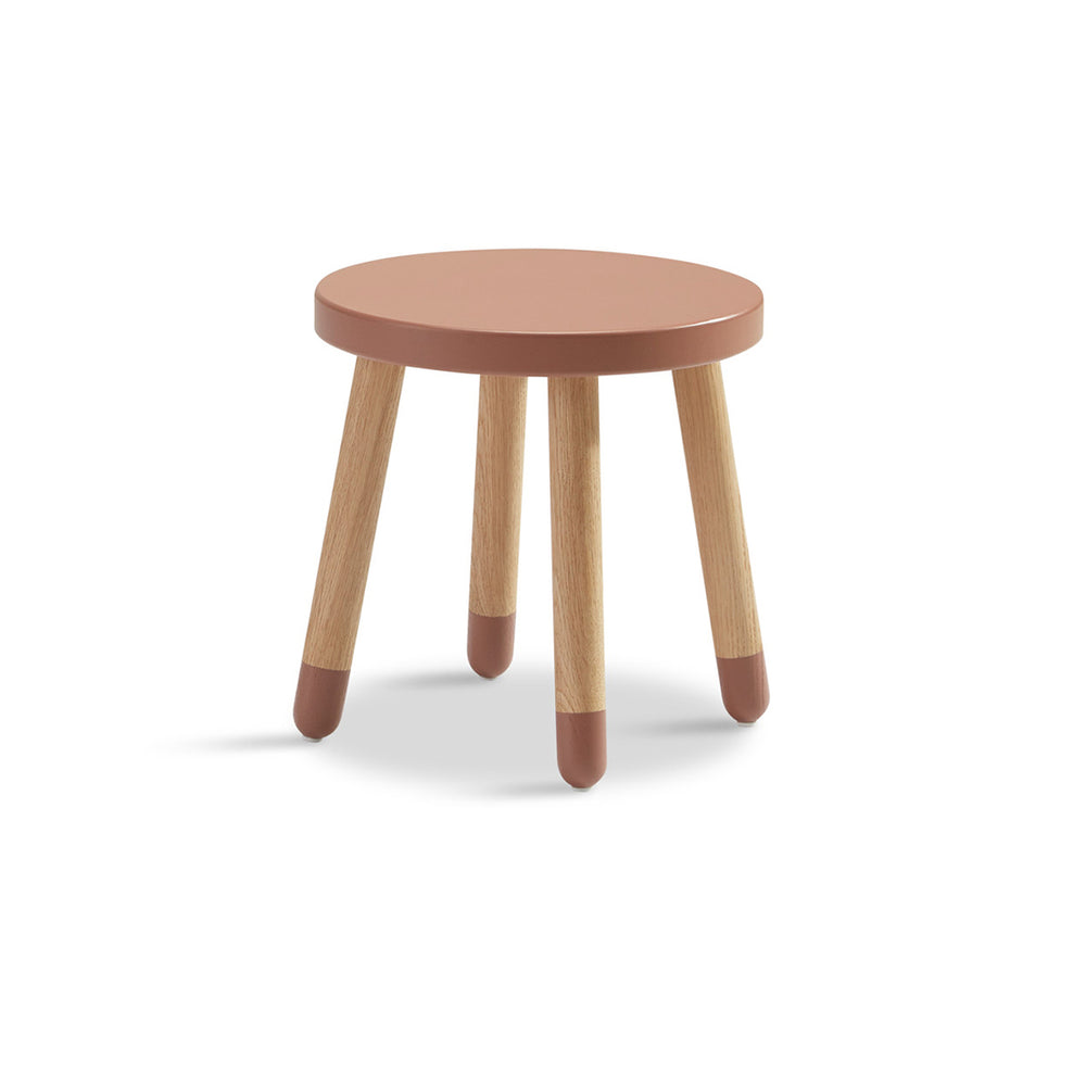 Play - Children's stool - Cherry - Kids Furniture | Flexa USA