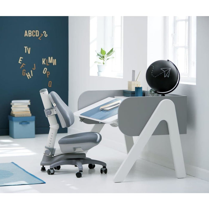 Study - Desk pad - Frosty Blue - Kids Furniture | Flexa USA