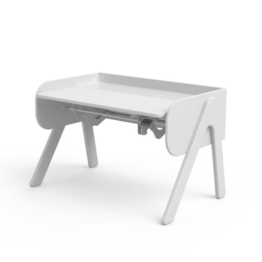 Study - Woody desk - Full White/Full White - Kids Furniture | Flexa USA