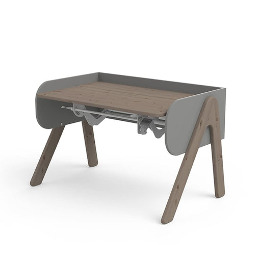 Study - Woody desk - Terra/Urban Grey - Kids Furniture | Flexa USA
