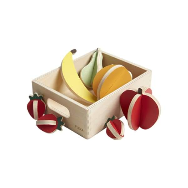 PLAY - Fruits - Mixed colors/Natural wood - Kids Furniture | Flexa USA