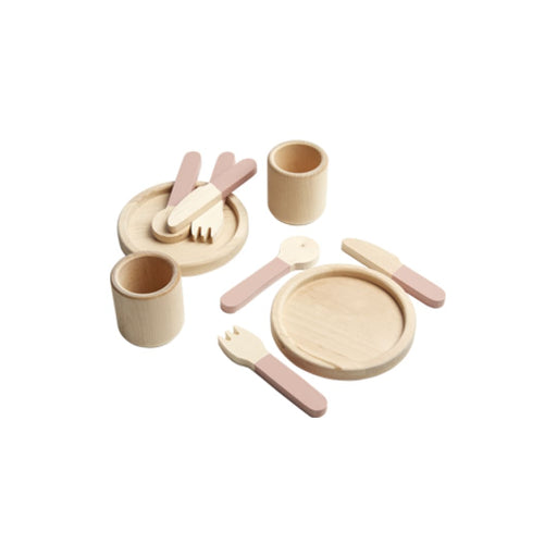 TOYS - Tableware - Light rose/Natural wood - Play furniture
