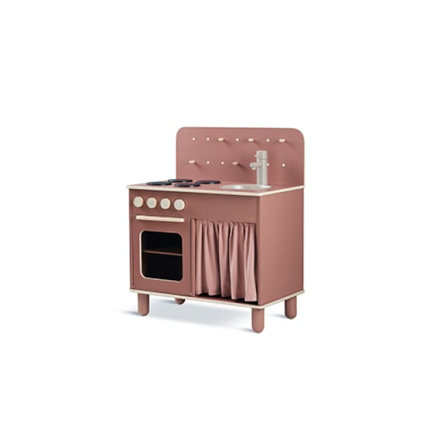 TOYS - The Kitchen - Dark rose - Play furniture