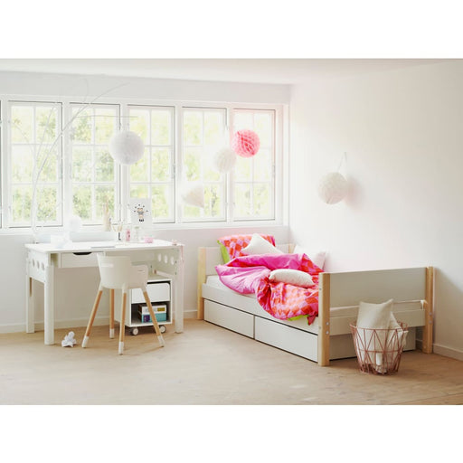 White - Daybed - White - Single bed