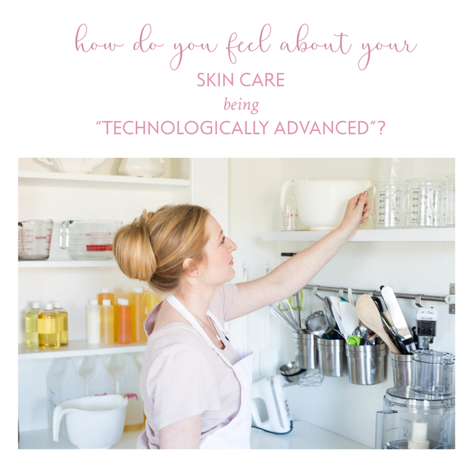 Technology in Skin Care?  Is that really a good thing?