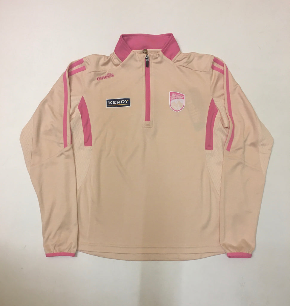 Kerry Raven lightweight Half zip Angelwing/pink
