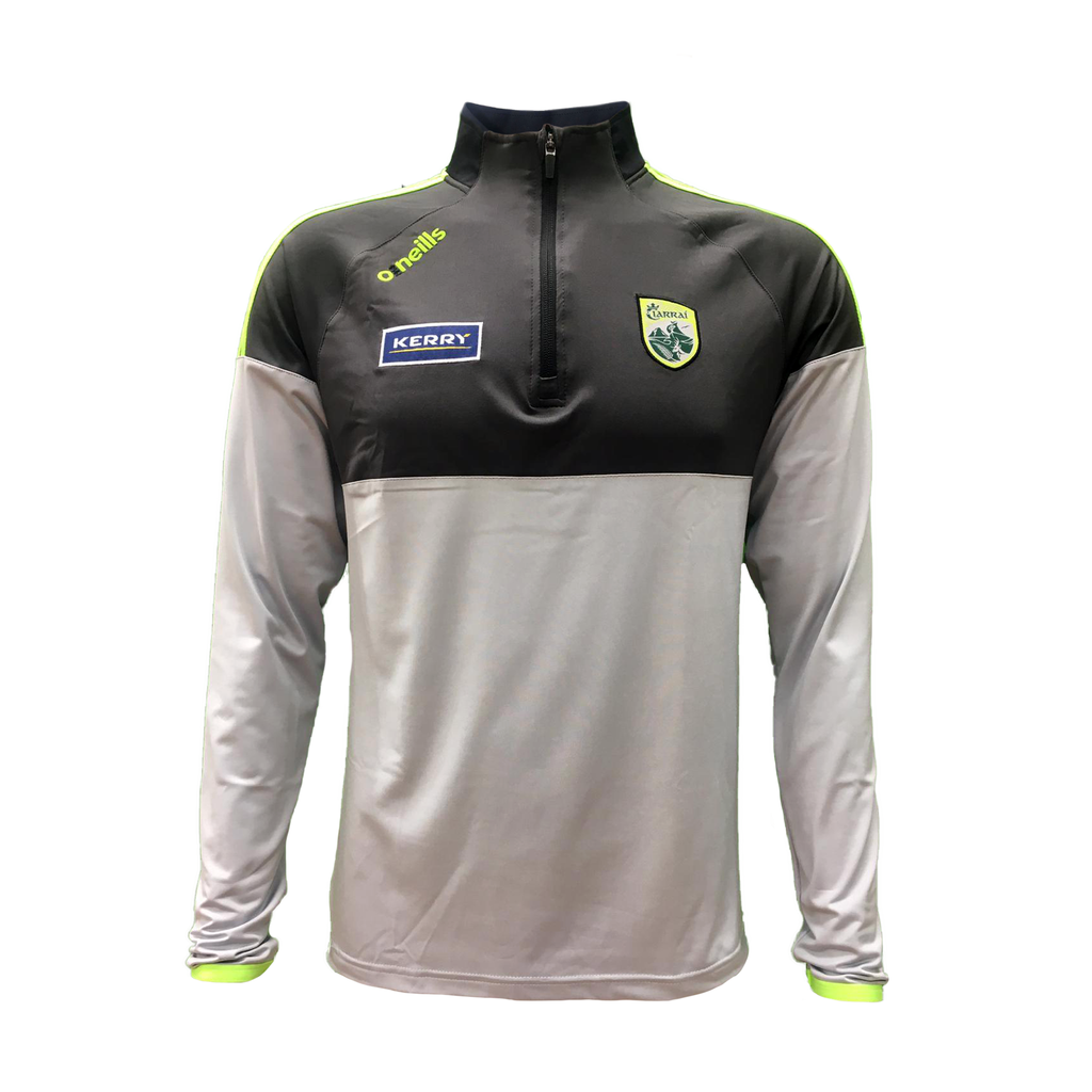 National League 2020 half zip silver