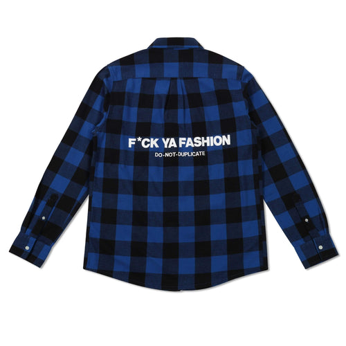 FuckYaFashion.com Flannel BLUE