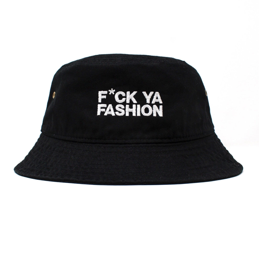 FuckYaFashion.com Hats BLACK