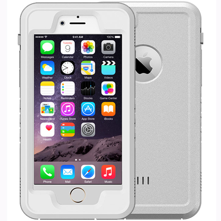 Urge Basics Waterproof Case for Apple iPhone 6Plus/6SPlus in White