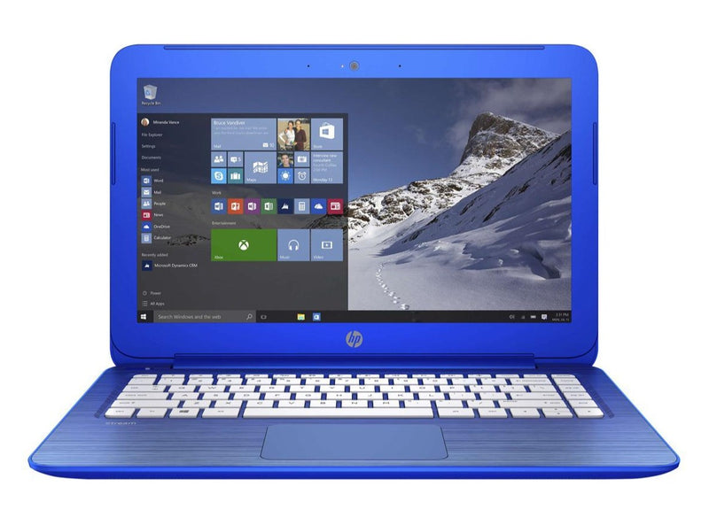 "HP Steambook 13.3"" Windows 10 Laptop Intel Celeron N3050 (1.6 GHz) 2GB 32GB eMMC 13-c110nr"